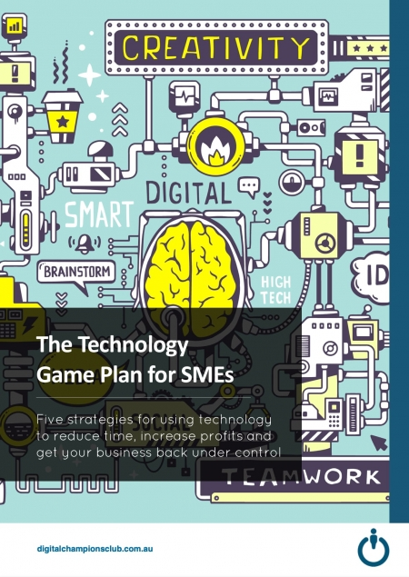 The Technology Game Plan for SMEs cover